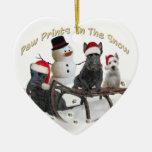 Escocés una época para el juego adornos de navidad