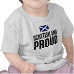 Escocés y orgulloso camiseta