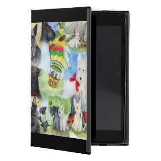 Escoceses de IPad en la madera de Whippety iPad Mini Protectores