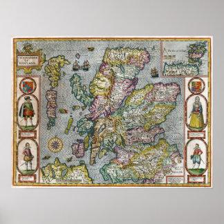 Escocia 1676 póster