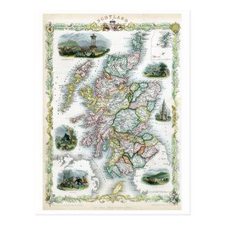 Escocia 1851 postal
