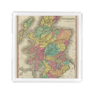 Escocia 18 bandeja cuadrada