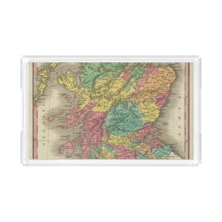Escocia 18 bandeja rectangular