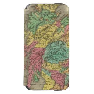 Escocia 18 funda billetera para iPhone 6 watson