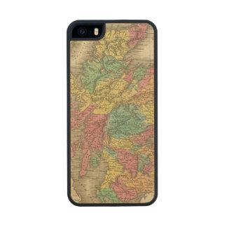 Escocia 18 funda de arce carved® para iPhone 5 slim