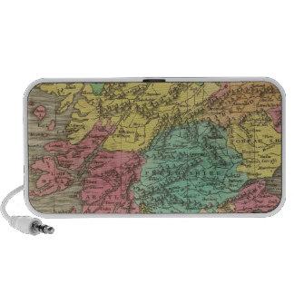 Escocia 18 iPhone altavoces