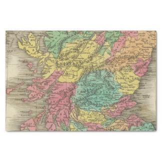 Escocia 18 papel de seda pequeño