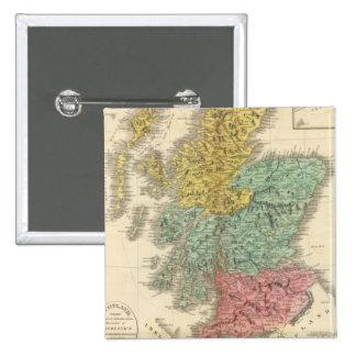Escocia 18 pin cuadrada 5 cm