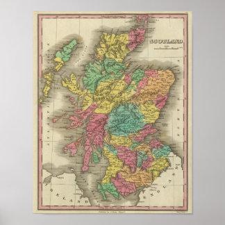 Escocia 18 póster