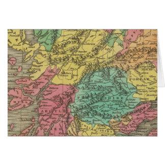 Escocia 18 tarjeta de felicitación