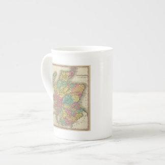 Escocia 18 taza de porcelana