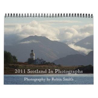 Escocia 2011 en fotografías calendario de pared