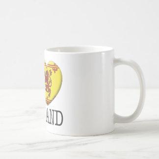 Escocia 2 taza básica blanca
