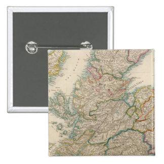 Escocia 3 pin cuadrada 5 cm