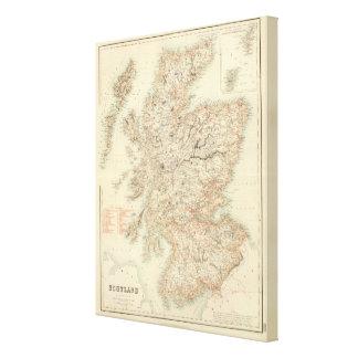 Escocia 5 impresiones de lienzo