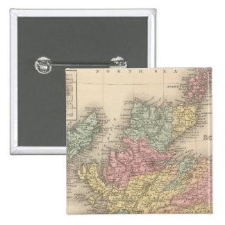 Escocia 6 pin cuadrada 5 cm