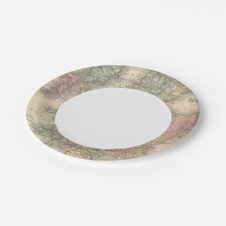 Escocia 6 plato de papel de 7 pulgadas