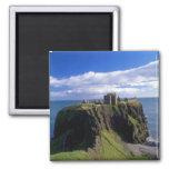 Escocia, Aberdeen. Castillo de Dunnotar Imán De Nevera