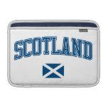 Escocia + Bandera Fundas Para Macbook Air