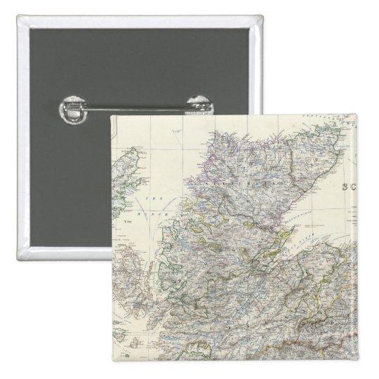 Escocia compuesta 3 pin cuadrado