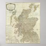 Escocia compuesta o Gran Bretaña del norte Póster