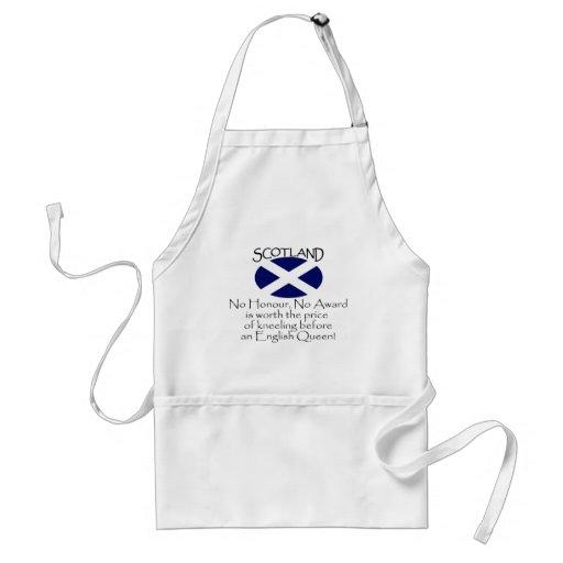 Escocia Delantal