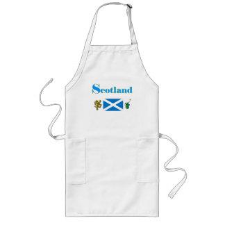Escocia Delantal Largo