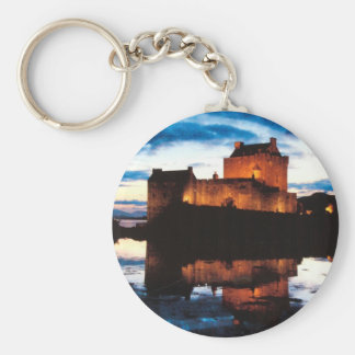 Escocia Donan Castle Llavero Redondo Tipo Pin