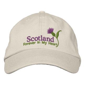 Escocia en mi corazón gorra de beisbol