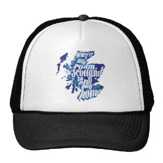 Escocia es mi hogar gorras de camionero