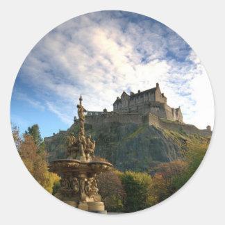 ESCOCIA: Etiqueta engomada majestuosa de Escocia