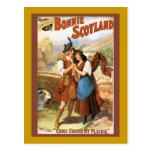Escocia hermosa tarjetas postales