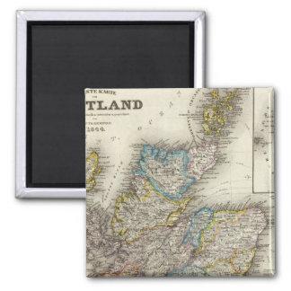 Escocia Imán De Frigorifico