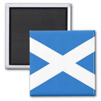 Escocia Imán Cuadrado