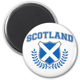 Escocia Imán Redondo 5 Cm