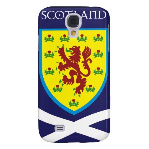 Escocia-Insignia Funda Para Galaxy S4