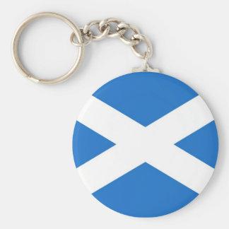 Escocia Llavero Redondo Tipo Pin