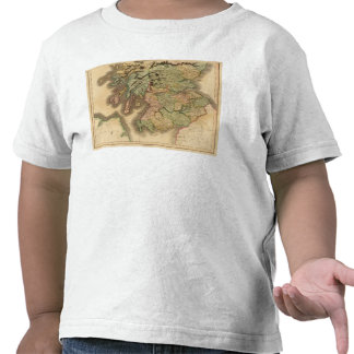 Escocia meridional camiseta