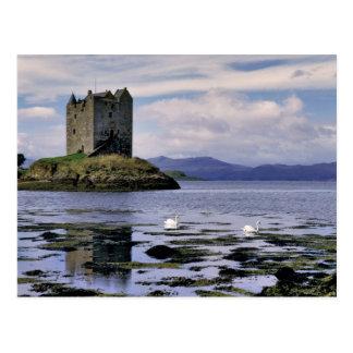Escocia montaña Wester Ross acosador Postales