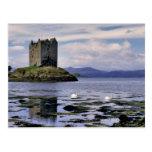 Escocia, montaña, Wester Ross, acosador Tarjetas Postales