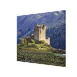 Escocia, montaña, Wester Ross, Eilean Donan Impresiones En Lona Estiradas