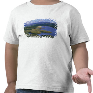 Escocia montaña Wester Ross lago Garry Camiseta
