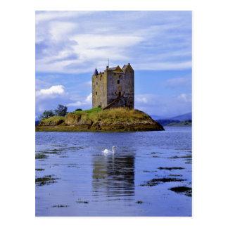 Escocia montaña Wester Ross lago Linnhe A Postal