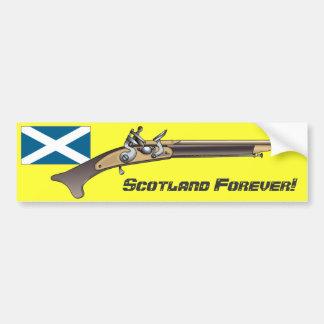 ¡Escocia para siempre! Pegatina Para Auto