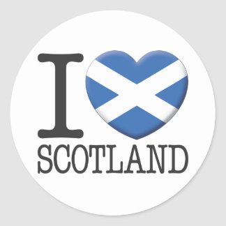 Escocia Etiqueta
