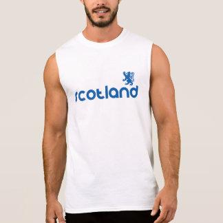 Escocia Camiseta Sin Mangas