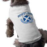 Escocia Playera Sin Mangas Para Perro