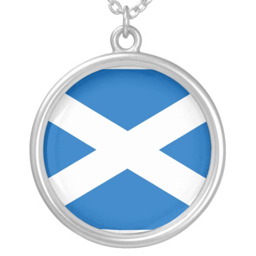 Escocia, Reino Unido Colgante Redondo