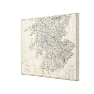 Escocia S Impresión En Lienzo