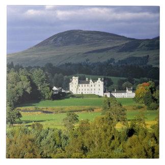 Escocia, Tayside, castillo de Blair. En una esmera Azulejo Cuadrado Grande